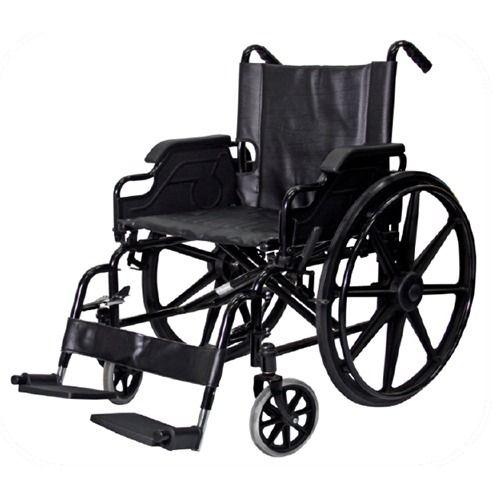 Silla de ruedas de acero inoxidable blunding